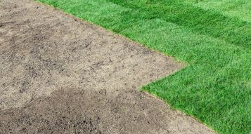 Ground Preparation for laying grass turf